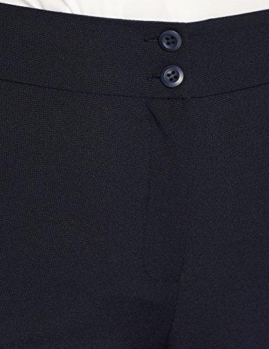 À Jambe Bleu Simply Simple Droite Marine Pantalon Beige a5zqFEw