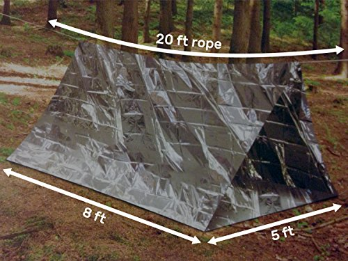 Previous · / Next & 3 PACK Emergency Shelter Tube Tents | Must-Have Outdoor Safety ...