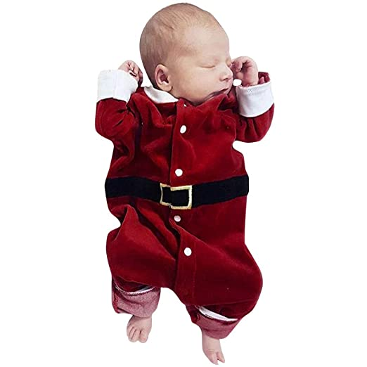 Amazon.com: Baby Boys Girls Christmas Outfit Long Sleeves Romper Jumpsuit  Clothes: Clothing - Amazon.com: Baby Boys Girls Christmas Outfit Long Sleeves Romper
