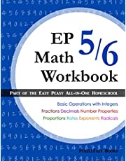 EP Math 5/6 Workbook: Part of the Easy Peasy All-in-One Homeschool