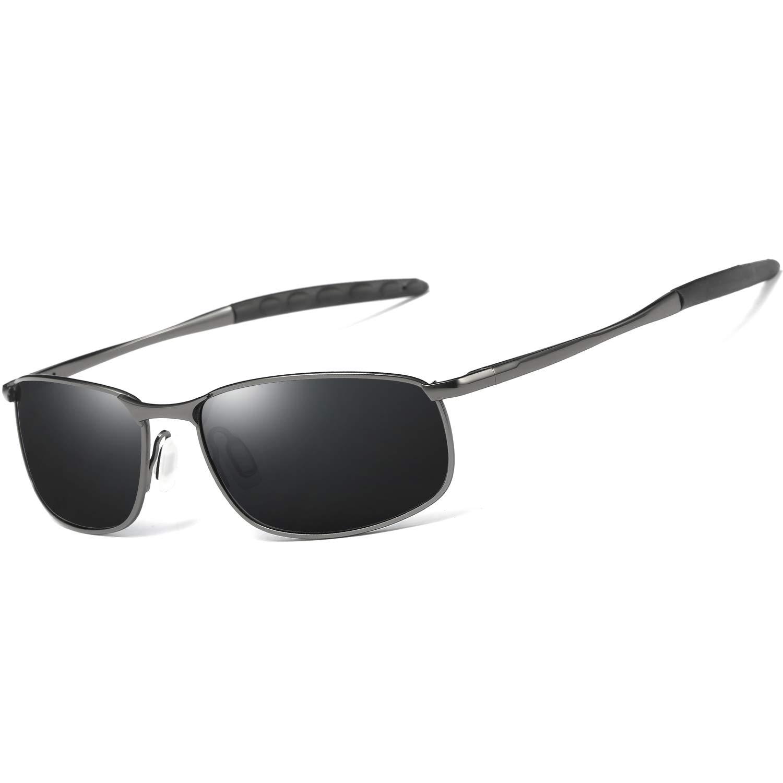 1b791884893 AORON Designer Polarized Sunglasses Sports Goggles Men Metal Glasses 100%  UV400 Driving Eyewear