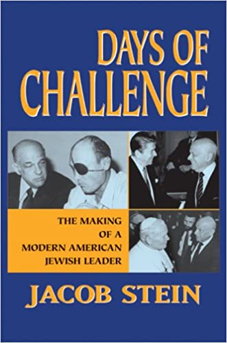 Book Days of Challenge: The Making of a Modern American Jewish Leader