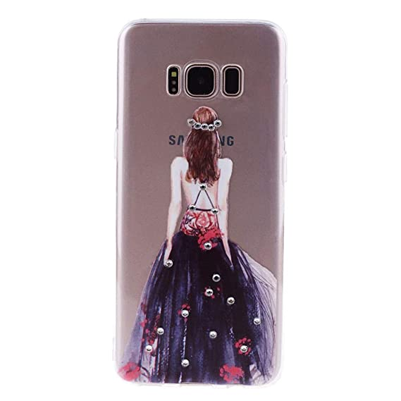 Amazon.com: Diamonds TPU Case for Samsung Galaxy S8 Case ...