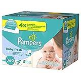 Pampers Baby Fresh, Toallas Húmedas para Bebé, 360 Toallas