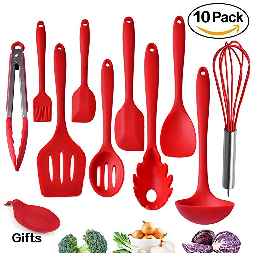 Kitchen Utensils Silicone Heat Resistant Non Stick