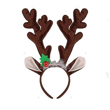Christmas Headband Antlers Hairband Xmas Tree Hair Hoop Hair Accessories