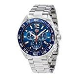 TAG Heuer Men's Formula 1 43mm Steel Bracelet & Case Quartz Blue Dial Analog Watch CAZ1014.BA0842
