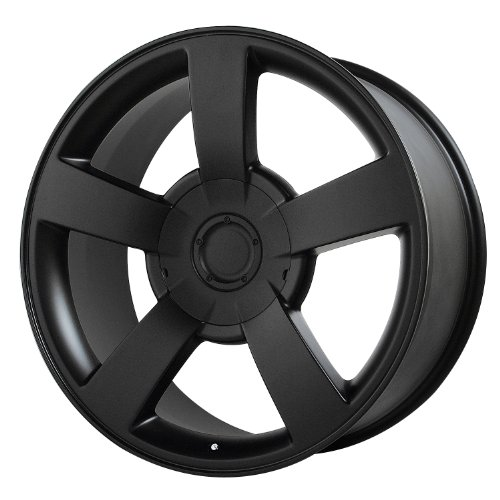 Wheel Replicas V1130 Chevrolet Silverado SS Matte Black Wheel (20x8.5