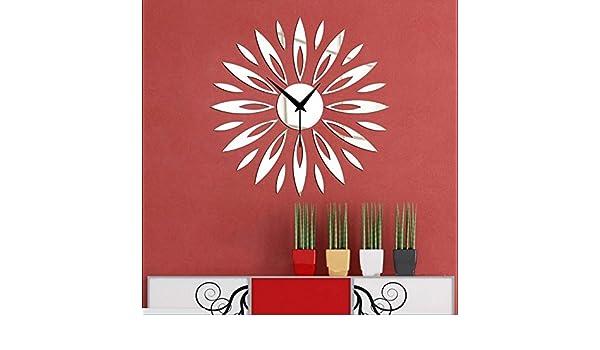 JY$ZB Relojerías, relojes, relojes de pared DIY espejo la pared ...