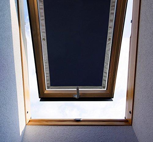 Purovi® Thermo Sonnenschutz für Dachfenster | verschiedene Größen | UV Schutz | 94 x 114cm kompatibel Velux 608 / S08