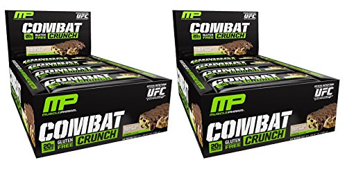 Combat Crunch Bars by MusclePharm - Low Carb, High Protei...