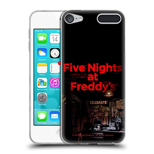 Official Five Nights At Freddy's Game 1 Logos Soft Gel Case for Apple iPod Touch 6G 6th (Games Ipod Touch 16 Gb)
