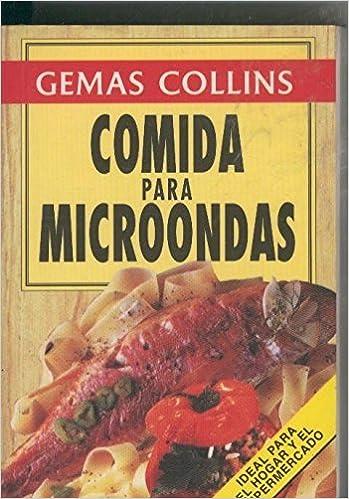 Minilibro: Comida para microondas: Gemas Collins: Amazon.com ...