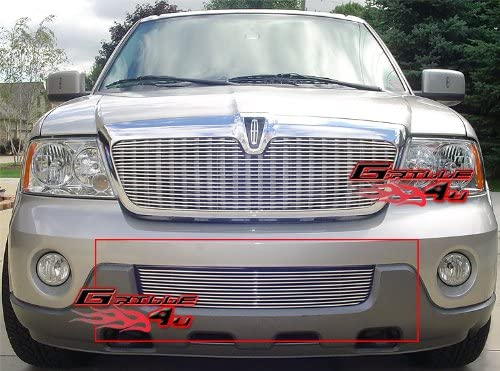 APS Compatible with 98-02 Lincoln Navigator Lower Bumper Billet Grille Insert N19-A98058L