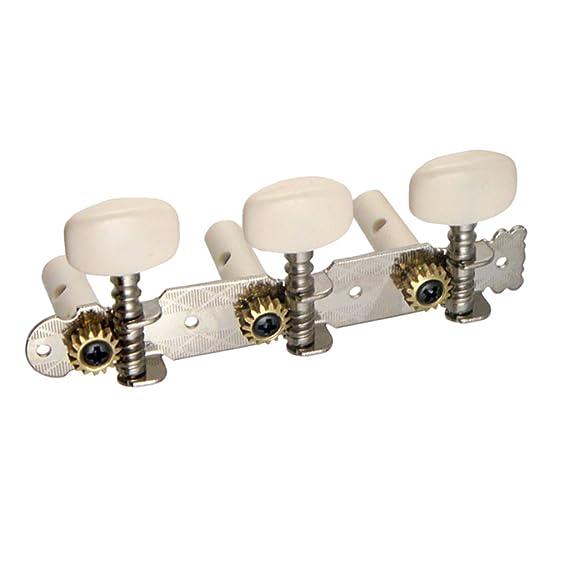 Mechaniken Stimmwirbel Stimmschlüssel 3R3L für Folk E-Gitarre