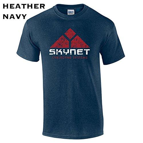 237 Skynet Funny Men's T Shirt