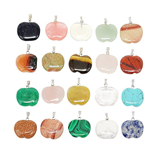 Chenkou Craft Lots Assorted 10pcs Love Apple 20mm (3/4