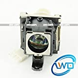 Awo-Lamps 5J.J1S01.001 Replacement Bulb/Lamp with Housing for BENQ MP610 MP610-B5A MP620P W100 Projectors 150 Day Warranty (by AWO)
