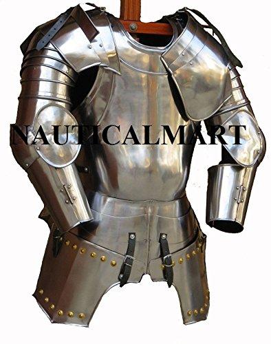 NAUTICAL MART Nautische Mart mittelalterliche Ritter cuirass Brustpanzer Historische Panzer Tragbares Halloween-Kostüm