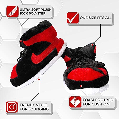 SoleSlip Jordan Alike Sneaker Slippers