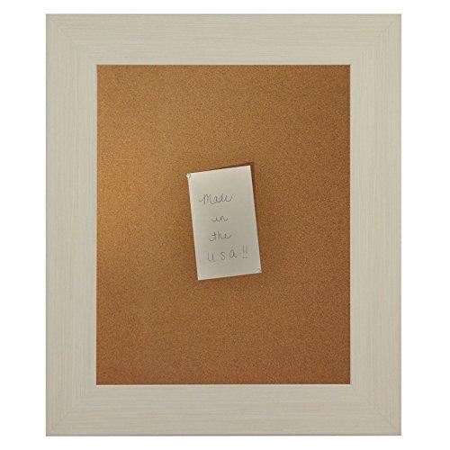 Rayne Mirrors American Made Rayne Arctic Ivory Corkboard Exterior Size: 18 x 24 by Rayne Mirrors