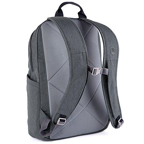 STM Banks Backpack For Laptop & Tablet Up To 15'' - Tornado Grey (stm-111-148P-20) by STM (Image #7)