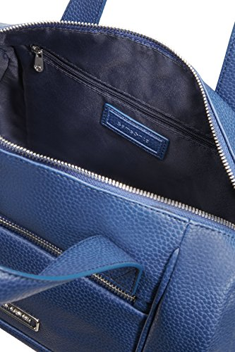 Samsonite Majoris Boston Bag Borsa Messenger, ABS, Navy, 30 cm