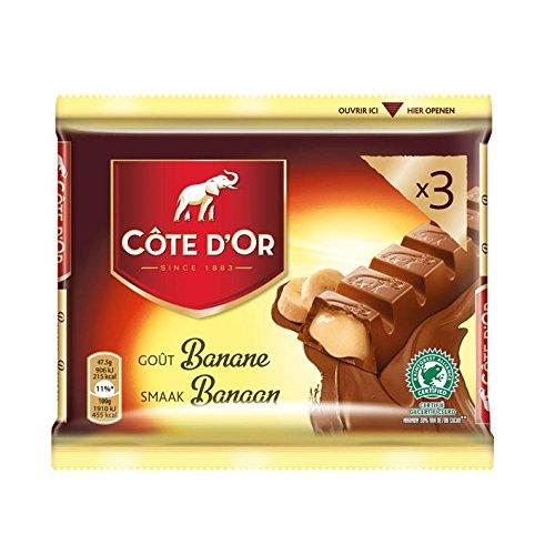 Cote DOr | Candybars | Banana | 3x47gr - 141gr / 0.32oz