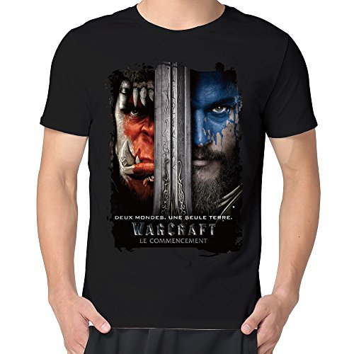Men's 2016 Action Movie Warcraft T Shirt