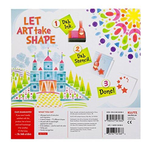 Klutz Stencil Art Book Kit