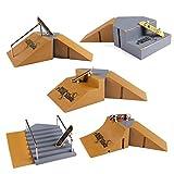 Fanci Finger Skateboard Ramps Park Set for Tech Deck Finger Board HB95-6 Super Large Package include 5 Boxes