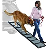 Lightweight Walk Up with Collapsible Aluminum Dog Ramp, 6-Feet