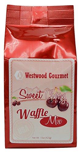 Price comparison product image Westwood Gourmet Waffle Mix with Jam, 15 oz (Sweet Cherry)