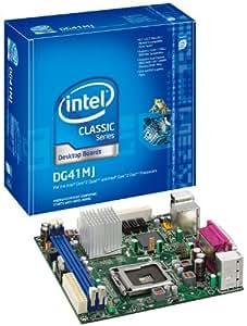 Intel Desktop Board DG41MJ - Placa base (Intel, Socket T (LGA 775), -20 - 70 °C, mini-ATX, 0 - 55 °C, 10/100/1000)