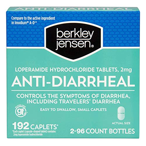 Berkley Jensen Anti-Diarrheal Caplets, 192 ct.