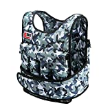 Swift360 Weighted Vest for Men 20/40lbs Adjustable Fitness Gear Cross-fit Training Exercise Camouflage/black