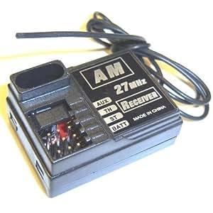 BSD b7011 Micro Mini 2 CANAL AM RECEPTOR RECEPTOR 27mhz RC