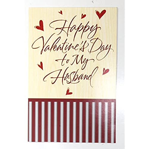 Valentine Card to Husband (Happy Valentine's Day to my Husband)American Greetings each Sales