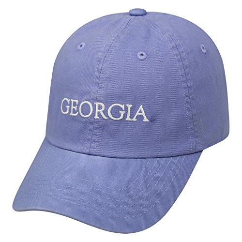 Top of the World Georgia Bulldogs Ladies Seaside Adjustable Hat-Lavender ()