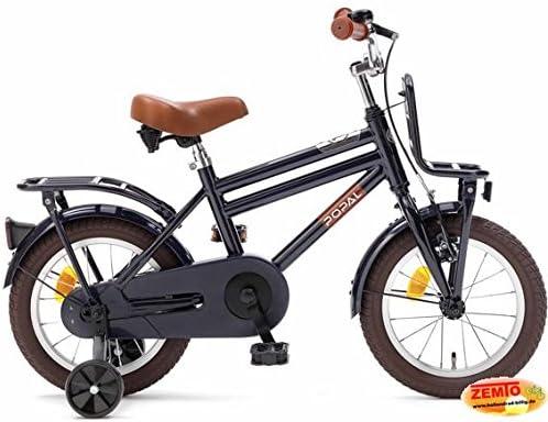 Bicicleta holandesa Joven, 14 pulgadas Cooper color azul oscuro ...