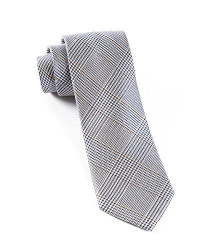 (The Tie Bar 100% Woven Silk Glen Plaid Skinny Tie)