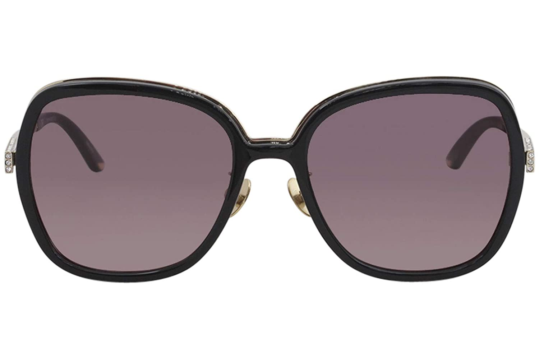 Amazon.com: anteojos de sol Nina Ricci SNR 107 S negro 0Z42 ...