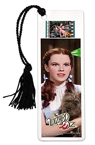 Wizard Of Oz Scene Setter (FilmCells Wizard of Oz (Dorothy and Toto) Bookmark with Tassel and real 35mm film clip)