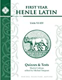 First Year Henle Latin Quizzes & Test for Units VI - XIV
