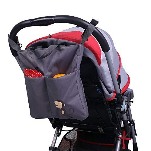 (Bechamel Kids Toy Stroller 2019, Multi-Function Baby Stroller Animal Stroller Accessorie - Cow Stroller, Push Car for Baby, Baby Hooks, Fox Baby Toy, Child Stroller, Kid Stroller)