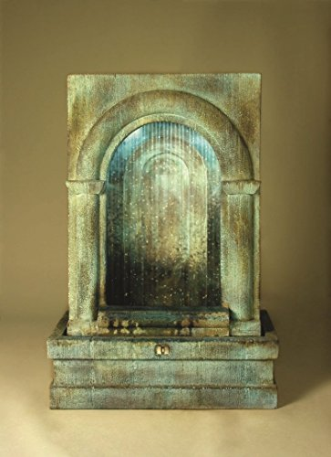 Henri/Stonecasters Grotto Falling Diamonds Fountain Finish Standard Tuscan Sienna ()