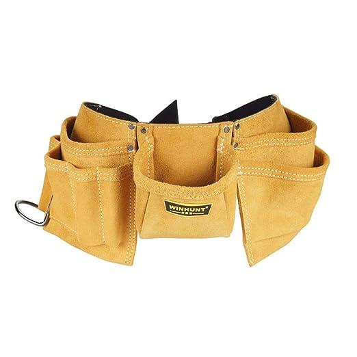 BAIZHI - Bolsa de herramientas para electricista, piel ...
