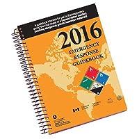 "Labelmaster ERG0023 White Paper 2016 Guía de respuesta de emergencia, 0.300 ""Altura, 5.5"" Ancho, espiral encuadernado Tamaño completo"