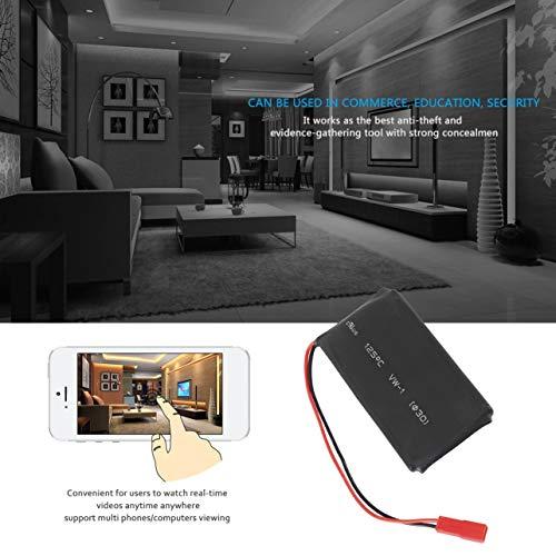 Z5S Mini HD 1080P WiFi Camera DIY DVR Module Wireless Remote Pinhole Camera(Color:Black) (Pinhole Color Covert Camera Mini)