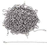 Stainless Steel Ball Chain Tag Key Chain